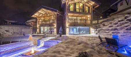 Luxury Chalet Sapphire + Little Gem in Morzine, France