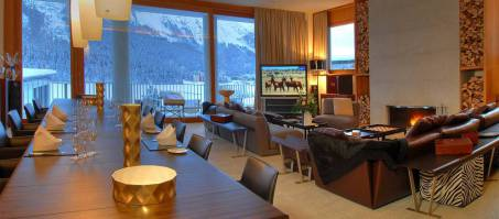 Luxury Chalet Chesa Lumpaz in St. Moritz, Switzerland