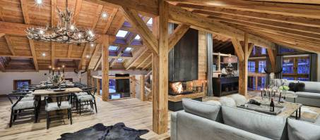 Luxury Chalet Le Moulin in Chamonix, France