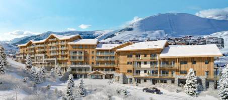 Luxury Hotel Daria-I Nor in Alpe d'Huez, France