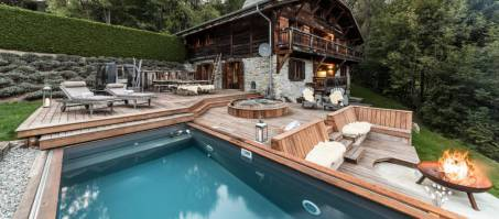 Luxury Chalet Ferme de Moudon in Les Gets, France