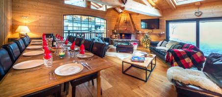 Luxury Chalet Les Deux Ourses in Morzine, France