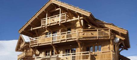 Luxury Chalet Le Chateau in Alpe d