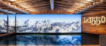 Luxury Chalet Le 1550 in Courchevel 1550, France