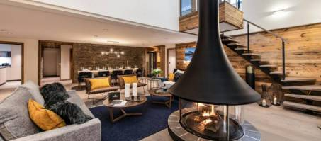 Luxury Chalet Manali Lodge Kinabalu in Courchevel 1650, France