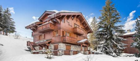 Luxury Chalet Agathe Blanche in Courchevel 1650, France