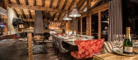 Luxury Chalet Dulcis Casu in Courchevel Le Praz, France