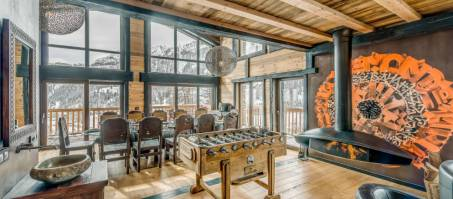 Luxury Chalet Ubud in Tignes, France
