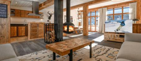 Luxury Chalet Le Flocon in Courchevel Le Praz, France