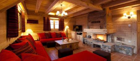 Luxury Chalet Le Manoir in Alpe d