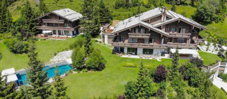 Luxury Chalet Ultima Crans Montana in Crans-Montana, Switzerland