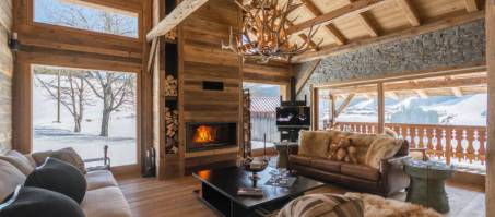 Luxury Chalet Ferme de la Corderie in Les Gets, France