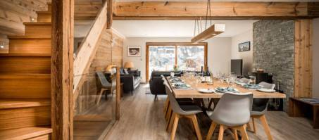 Luxury Chalet Ellanar in Courchevel Le Praz, France