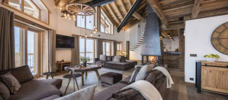 Luxury Chalet Machapuchare in Val d