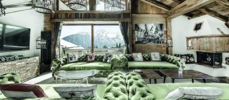 Luxury Chalet La Vizelle in Courchevel 1850, France