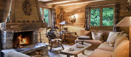 Luxury Chalet Sommet in Courchevel 1850, France