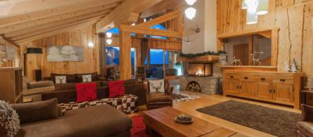Luxury Chalet The Peak in Sainte Foy, France