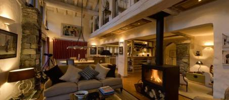 Luxury Chalet Pecchio in Sainte Foy, France