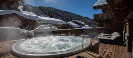 Luxury Chalet Clos Saint Jean in Les Gets, France