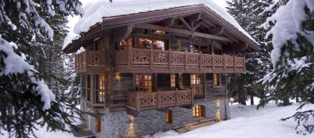 Luxury Chalet Les Gentianes in Courchevel 1850, France