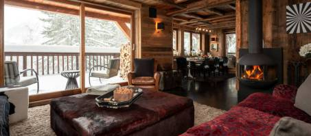 Luxury Chalet Hyberna in Courchevel 1550, France