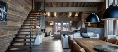 Luxury Chalet Mammoth Lodge Penthouse T8 in Courchevel 1650, France