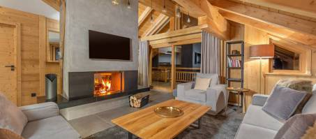 Luxury Chalet Eden West in Alpe d