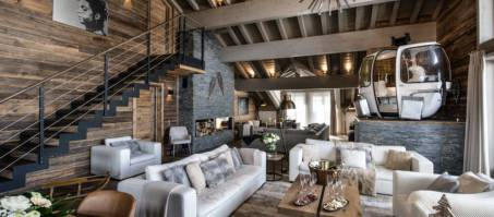 Luxury Chalet Mammoth Lodge Penthouse in Courchevel 1650, France