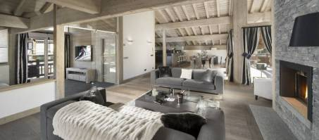 Luxury Chalet Grand Tetras in Courchevel Le Praz, France