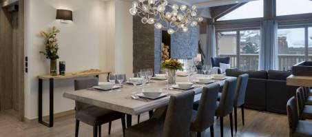 Luxury Chalet Le C Penthouse T6 in Courchevel 1650, France