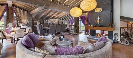 Luxury Chalet Labaobou in Courchevel 1650, France