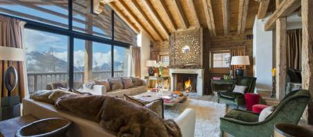 Luxury Chalet Dent Blanche in Verbier, Switzerland