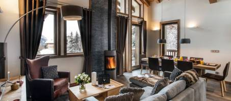 Luxury Chalet Yellowstone Lodge 1 in La Tania, France