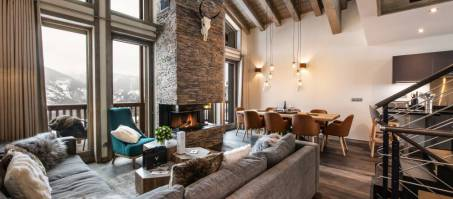 Luxury Chalet Yellowstone Lodge 3 in La Tania, France