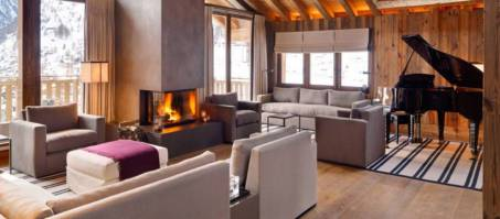 Luxury Chalet Les Anges in Zermatt, Switzerland