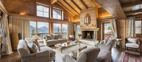 Luxury Chalet The Bella Coola Estate in Verbier, Switzerland