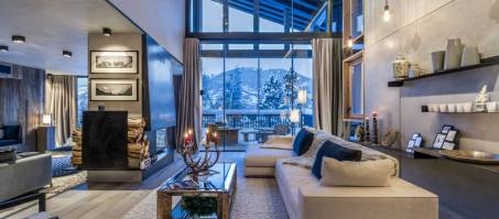 Luxury Chalet Blossom Hill in Courchevel Le Praz, France
