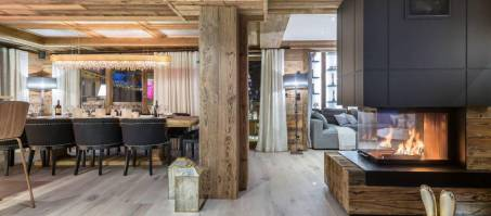 Luxury Chalet White Chalet in Courchevel Le Praz, France