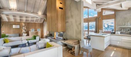 Luxury Chalet Kibo in Courchevel 1550, France