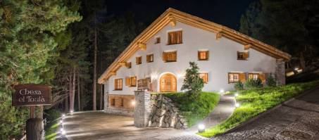 Luxury Chalet Chesa El Toula in St. Moritz, Switzerland