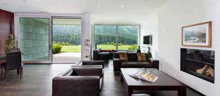 Luxury Chalet Apartment Snow Garden in St. Moritz, Switzerland