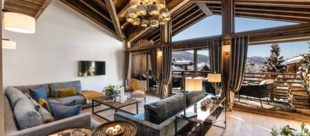Luxury Chalet Kinabalu Residence in Les Gets, France