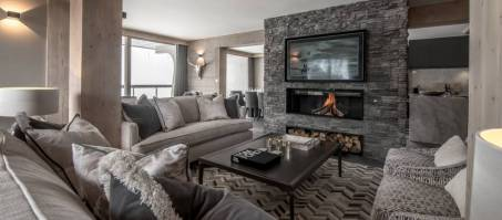 Luxury Chalet Penthouse Le George in Courchevel 1550, France