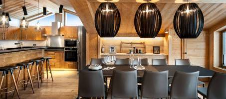 Luxury Chalet Jungfrau in Courchevel 1550, France
