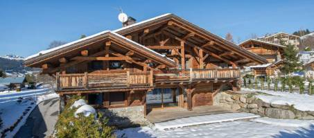 Luxury Chalet Azalee in Megève, France