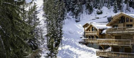 Luxury Chalet Belvedere in La Tania, France