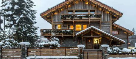 Luxury Chalet Blackstone in Megève, France