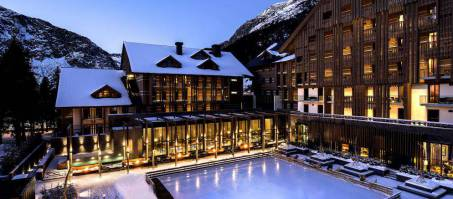 Luxury Hotel The Chedi Andermatt in Andermatt, Switzerland