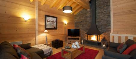 Luxury Chalet Grand Solliet in Sainte Foy, France