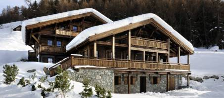 Luxury Chalet Hidden Dragon in Veysonnaz, Switzerland
